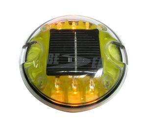 Plástico do Olho do Gato LED Reflexiva Solar Estrada Stud