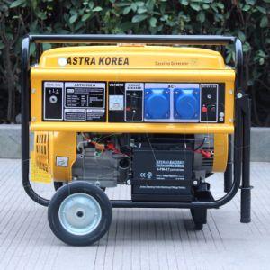 バイソンの中国の発電機5kw販売フィリピンのための空気によって冷却される携帯用Astra韓国の発電機の価格の携帯用発電機