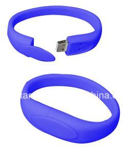 USB 2.0 de regalo de promoción de la unidad flash USB Pulsera Brazalete USB Stick