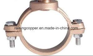 Sella del morsetto del Gunmetal per il tubo del PVC