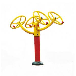Strumentazione esterna di ginnastica/ginnastica della macchina di forma fisica del corpo della rotella del Tai Ji multi per gli sport