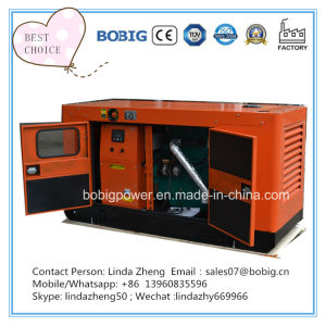 generatore diesel aperto silenzioso di 100kw 125kVA con Cummins Engine 6BTA5.9-G2