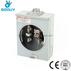 Fabricante padrão ANSI 125 Amp Tomada Contador eléctrico residencial