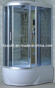 Ducha de vapor de lujo completo cuadro de la casa de la cabina del armario (AC-58-118)