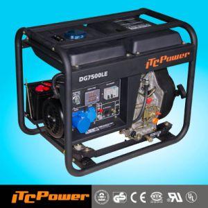 Itcpower 5-5.5kVA Open Type Portable Diesel Generator