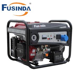 De 7000 vatios de potencia portátil generador de gasolina con Saso, CE, Soncap Certificado (FB9500E)