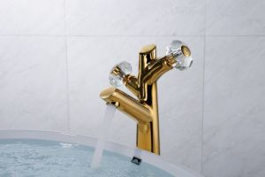 Высокое качество латуни хромированный бассейна под струей горячей воды заслонки смешения воздушных потоков -01A101K