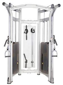 Tipo de bastidor de la polea doble entrenador funcional de equipos de gimnasio XC22