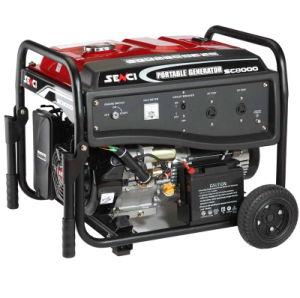 세륨을%s 가진 6.5kw Silent Type Home Use Electric Key Start Gasoline Generator