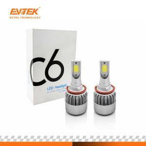 C6 de mazorca de faros de luz de coche 72W 7800LM C6 H11 LED Faros de xenón