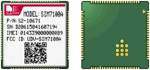 Simcom Baugruppe SIM7100A