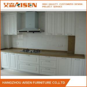 O PVC branco moderno Armários de cozinha personalizada para decoração de cozinha