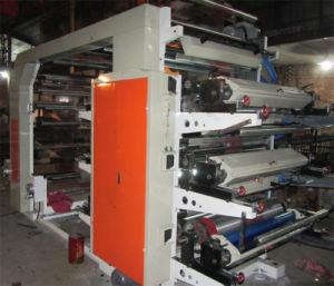 Seis colores bolsa de plástico de la serie la máquina de impresión (YT)