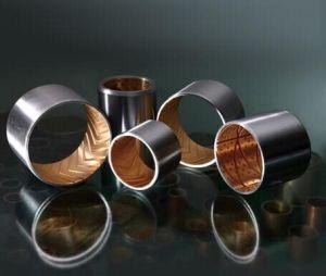 O bronze Self-Lubricating Bimetálico um deslize o rolamento