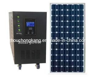 小型3000W太陽発電機セット、家、オフィスライト(FC-MA3000)のための太陽電池パネルシステム
