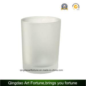 Capture d'dépoli de verre pour porte-bougie votive décor Tealight