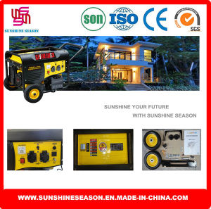 5 квт дома генератор и бензин генератор для дома и на улице (SP12000E2)