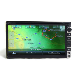 Dubbel DIN Car DVD Player met GPS TV Universal