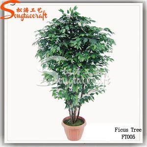 Decoração planta artificial Bonsai Tree produto plástico