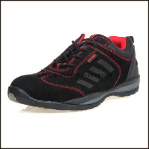 En 20345 Mujeres zapatos de cuero auténtico trabajo