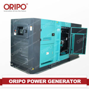 Cooling Fan를 가진 60kVA Super Silent Diesel Generator Set