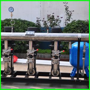 La presión Non-Negative Multi-Stage bomba centrífuga de acero inoxidable equipos de suministro de agua