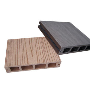 Decking de WPC, material do Decking, placa de WPC