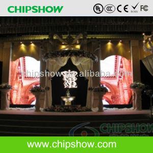 Chipshow P6 Indoor haute densité de la publicité de panneau à LED en couleur