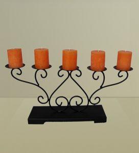 Supporto di candela del ferro saldato (GPM056)