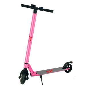 Deportes al aire libre adulto 350W 2 ruedas Scooter eléctrico de fibra de carbono