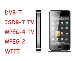 Telefono mobile ISDB-T/di DVB-T Digitahi TV (GLL-919)