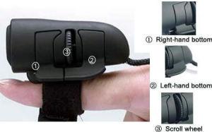 Souris optique (doigt) de la souris (TM-512)