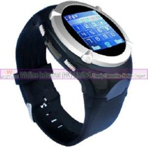 Der Plastikfall-versteckte Video-Aufzeichnungs-1.5&acute Handy-Uhr des Screen-GPRS (WTWS101)