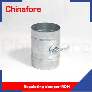 Ammortizzatore di regolamento d'acciaio galvanizzato del montaggio del condotto