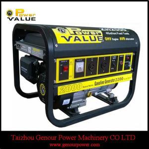 5KW Recolhimento Silencioso iniciar gerador de gasolina para uso doméstico (ZH6500)