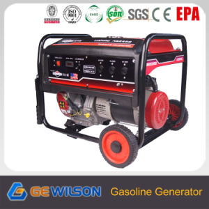 6.5Kw generador eléctrico con ruedas