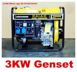 5KW 5kVA 3000W gerador diesel bom preço definido Monofásico gerador diesel