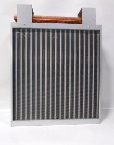A água quente para bobinas de conduta do permutador de ar