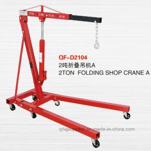 2 Ton Floding Shop grúa con aprobación CE