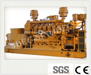 Insieme generatore di forza motrice della biomassa del gas della paglia di gassificazione (100KW)