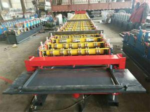 Tablier de plancher tôle fabricant de machine à profiler