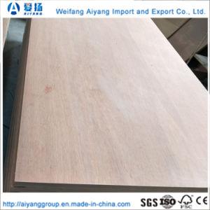 El contrachapado de bambú de alta calidad y de envases de madera contrachapada de suelos