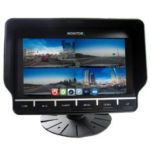 7 дюймов цифровая система Quad View