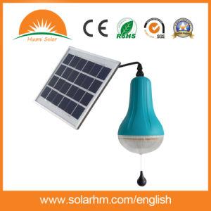 2W de alta luminosidad LED Solar con batería interna recargable