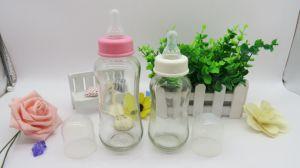 Prezzo di fabbrica di vetro delle bottiglie di bambino di vendita calda