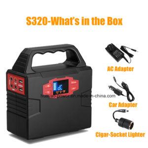 Emergency Power Supply Small Portable Power Generator Inverter 100W 40800mAh