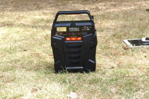 Sistema de alimentación de batería de litio cargada del generador de energía solar por paneles solares