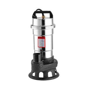 Pompa placcata scalfita eccellente della pompa per acque luride di flusso che alloggia la pompa per acque luride sommergibile
