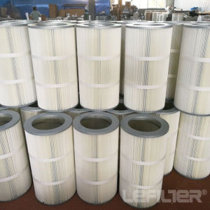 Filtro dalla cartuccia pieghettato aria industriale della cartuccia di filtro dalla polvere