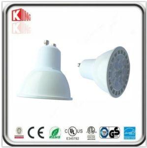 Hohe Lampe des Lumen-7W SMD LED GU10 im weißen Gehäuse